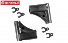 FG68225 Rear wishbone upper 4WD M8-Ø6, Set