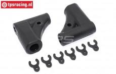 FG68225 Rear wishbone upper 4WD M8, Set