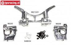 FG68400/01 Alloy rear axle 4WD WB535, set