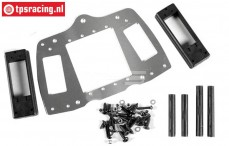 FG68414 Aluminium RC Plate 4WD, Set