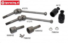 FG68431 Universal joint front M6 4WD, Set