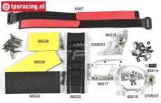 FG68512 Electric conversion kit 1/5-1/6, 2WD-4WD, Set