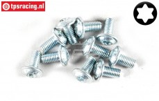 FG6917/06 Torx Button Head screw M3-L6 mm, 10 pcs.