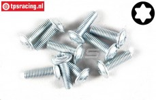 FG6917/10 Torx Button Head screw M3-L10 mm, 10 pcs.