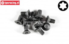FG6918/06 Torx Countersunk screw M3-L6 mm, 10 pcs.