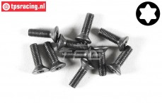FG6918/10 Torx Countersunk screw M3-L10 mm, 10 pcs.