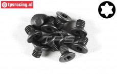 FG6920/06 Torx Countersunk screw M4-L6 mm, 10 pcs.