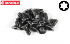 FG6920/10 Torx Countersunk screw M4-L10 mm, 10 pcs.