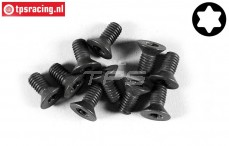 FG6922/12 Torx Countersunk screw M5-L12 mm, 10 pcs.