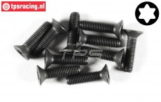 FG6920/16 Torx Countersunk screw M4-L16 mm, 10 pcs.