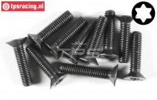 FG6923/25 Torx Countersunk screw M6-L25 mm, 10 pcs.