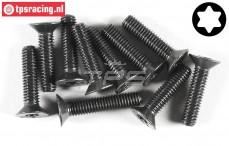 FG6923/30 Torx Countersunk screw M6-L30 mm, 10 pcs.