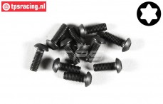 FG6924/08 Torx Button Head screw M3-L8 mm, 10 pcs.