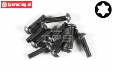 FG6924/10 Torx Button Head screw M3-L10 mm, 10 pcs.