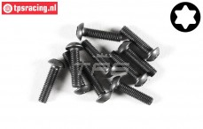 FG6924/12 Torx Button Head screw M3-L12 mm, 10 pcs.