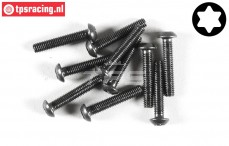 FG6924/14 Torx Button Head screw M3-L14 mm, 10 pcs.