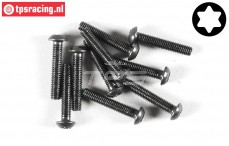 FG6924/16 Torx Button Head screw M3-L16 mm, 10 pcs.