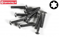 FG6924/18 Torx Button Head screw M3-L18 mm, 10 pcs.