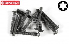 FG6924/2 Torx Button Head screw M3-L20 mm, 10 pcs.
