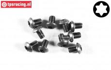 FG6925/06 Torx Button Head screw M4-L6 mm, 10 pcs.