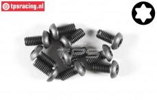 FG6925/08 Torx Button Head screw M4-L8 mm, 10 pcs.