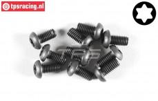 FG6925/10 Torx Button Head screw M4-L10 mm, 10 pcs.