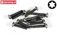 FG6925/20 Torx Button Head screw M4-L20 mm, 10 pcs.