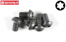 FG6927/10 Torx Button Head screw M6-L10 mm, 5 pcs.