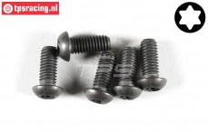 FG6927/14 Torx Button Head screw M6-L14 mm, 5 pcs.