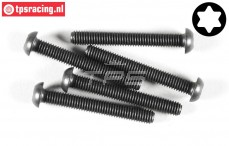 FG6927/45 Torx Button Head screw M6-L45 mm, 5 pcs.
