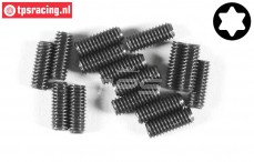FG6929/10 Torx Grub screw M4-L10 mm, 15 pcs.