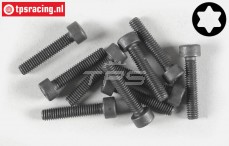 Torx normale kop (M4-L20 mm), (Staal), 10 St.