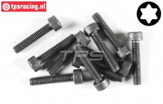 FG6932/20 Torx Socket head screw kop M4-L20 mm, 10 pcs.