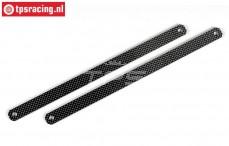 FG7010/04 Carbon side protection L334 mm, 2 pcs.