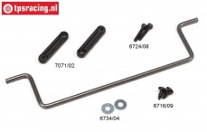FG7071 Stabilizer rear Ø4,0 mm, Set