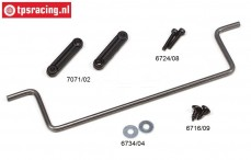 FG7071/06 Stabilizer 1/5 2WD rear Ø5,0 mm, Set