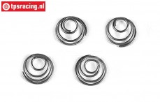 FG7080/04 Conical spring Ø11-H8 mm, 4 pcs