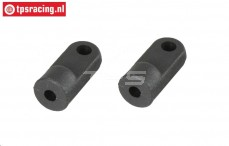 FG7087/01 Lower shock retaining L22 mm, 2 pcs.