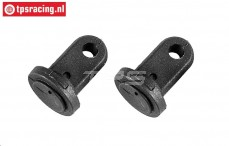 FG7087 Upper shock mount Ø17 mm, 2 pcs