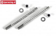 FG7090/02 Threaded Shock piston rod short, 2 pc.