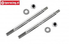 FG7090/02 Threaded Shock piston rod short, 2 pc.