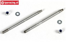 FG7091/02 Threaded Shock piston rod long, 2 pcs.
