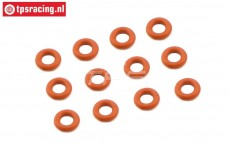 FG7093 Shock Silicone O-ring Ø4-H2,0 mm, 12 pcs.