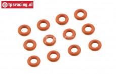 FG7093 Shock Silicone O-ring Ø4-H2,0 mm, 12 pcs.