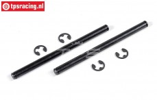 FG7102 Wishbone pin, (Ø6-L87 mm), 2 pcs.