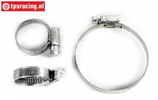 FG7118 Stainless Steel Hose clamp, Set