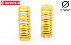 FG7183 Shock spring Yellow Ø2,3-L58 mm, 2 pcs.