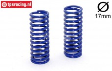 FG10184 Shock spring bleu Ø2,5-L48 mm, 2 pcs.