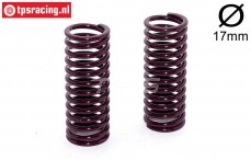 FG7185 Shock spring Violet Ø2,6-L58 mm, 2 pcs.