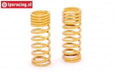 FG7191 Shock spring progressive Yellow Ø2,1-L58 mm, 2 pcs.